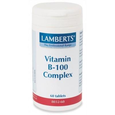 Lamberts Vitamin B-100 Complex 60tabs
