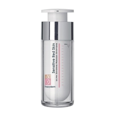 FREZYDERM SENSITIVE RED SKIN TINTED SPF 30 CREAM 30ML