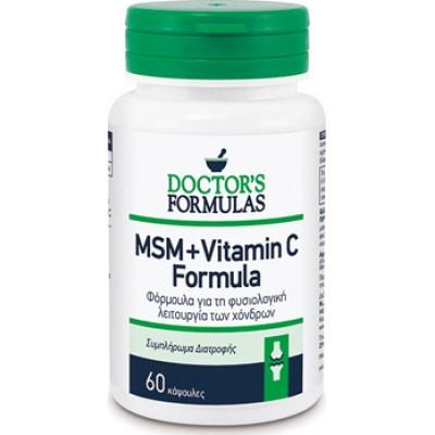 Doctor's formula MSM + Vitamin C 60 Caps