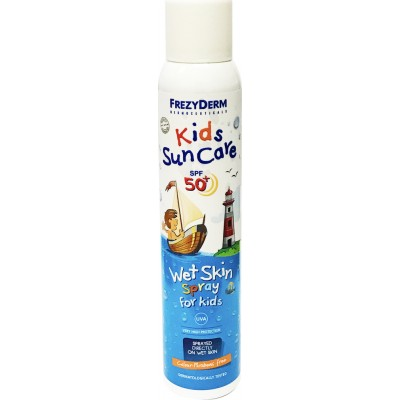 Frezyderm Kids Suncare spf 50+ wet skin spr for kids 200 ml