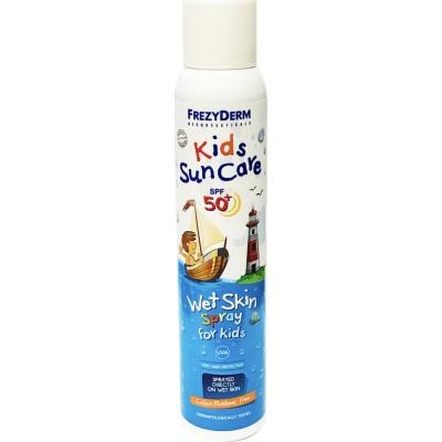 Frezyderm Kids Suncare spf 50+ wet skin spr for kids 200 ml