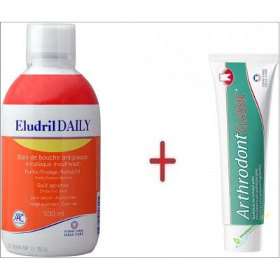 ELUDRIL DAILY 500ML + ARTHRODONT 40GR