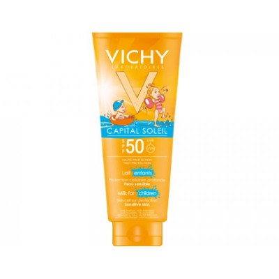 VICHY CAPITAL SOLEIL ΠΑΙΔΙΚΟ ΓΑΛΑΚΤΩΜΑ SPF50+ 300ML
