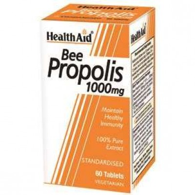 Health Aid Bee Propolis 1000mg Πρόπολη 60tabs
