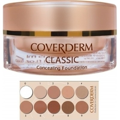 COVERDERM CLASSIC CONCEALING FOUNDATION SPF30 02 15ML