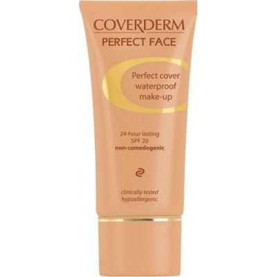 Coverderm Perfect Face Αδιάβροχο-υποαλλεργικό Make-up 03 SPF20 30ml