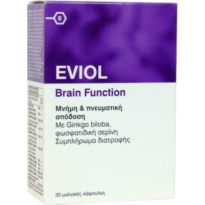Eviol Brain Function 30 Softcaps
