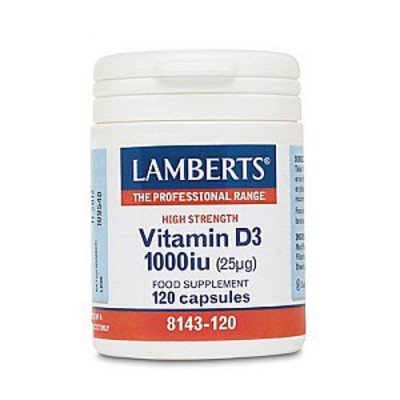 Lamberts Vitamin D3 1000ui 120tabs