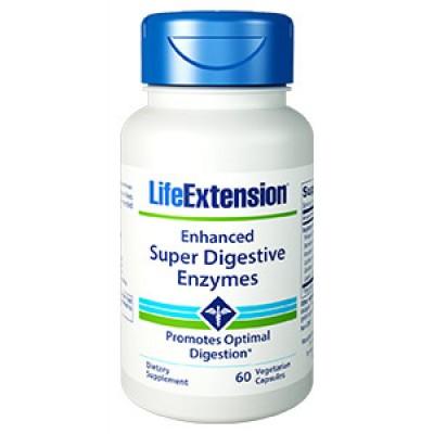 Life Extension Enhanced Super Digestive Enzymes 60 Veg. Caps