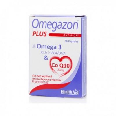 HEALTH AID OMEGAZON PLUS COQ10 30 CAPS - BLISTER