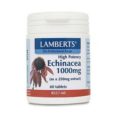 LAMBERTS ECHINACEA 1000MG 60 TABLETS