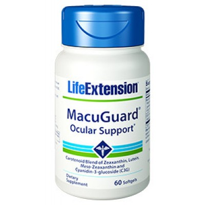 Life Extension Macuguard 60 Softgels (Φικιωρης)