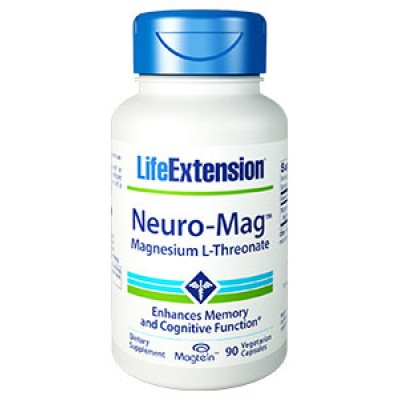 Life Extension Neuro-Mag Magnesium 90 Veg. Caps (Φικιωρης)