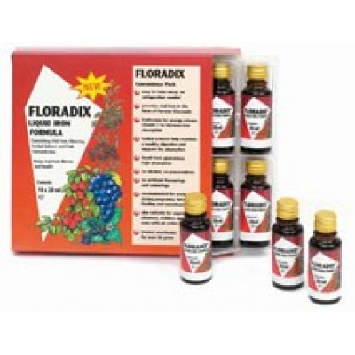 POWER HEALTH FLORADIX IRON FOR WOMAN 15MG 10x20ML