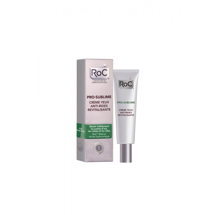 ROC PRO-SUBLIME ANTI-WRINKLE EYE REVIVING CREAM 15ML