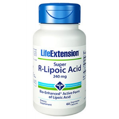 Life Extension Super R-Lipoic Acid 60 Veg. Caps (Φικιωρης)