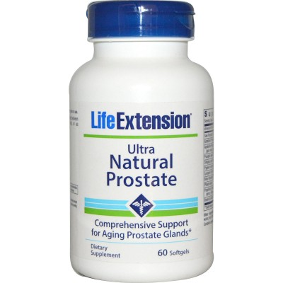 Life Extension Ultra Natural Prostate Formula 60 Softgels (Φικιωρης)