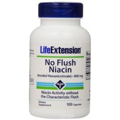 Life Extension No Flush Niacin 800mg 100caps (Φικιωρης)