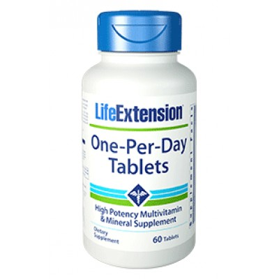 Life Extension One Per day 60caps (Φικιωρης)