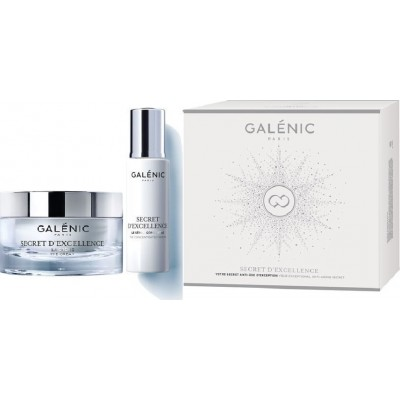 Galenic Secret D'Excellence Set Le Serum Concentre 30ml + ΔΩΡΟ La Cream 15ml