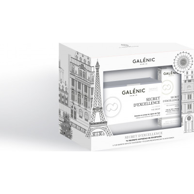 Galenic Secret D'excellence Κρέμα αντιγήρανσης 50ML/Αντιγηραντικός Ορός 10ML