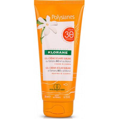 KLORANE - POLYSIANES Gel Creme Solaire Sublime SPF30 - 200ml