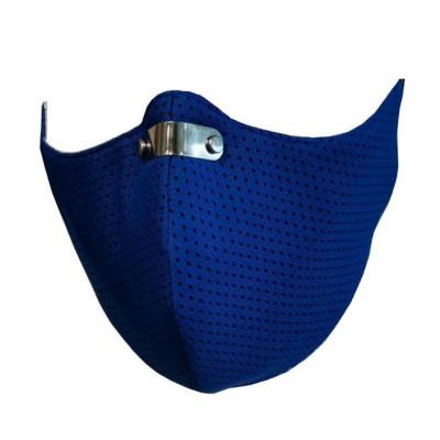 ΜΑΣΚΑ RespiShield με Φίλτρα προστασίας Πολλαπλών Χρήσεων Medium ΡΜ2.5 - PM10 ΜΠΛΕ 1τμχ
